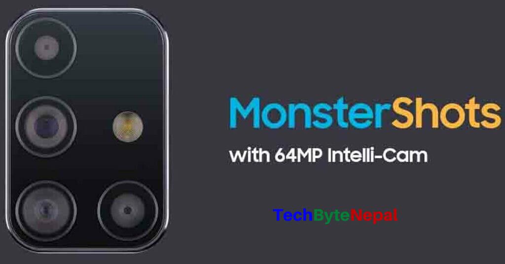 Samsung Galaxy M31s Intelli 64 MP Quad Camera