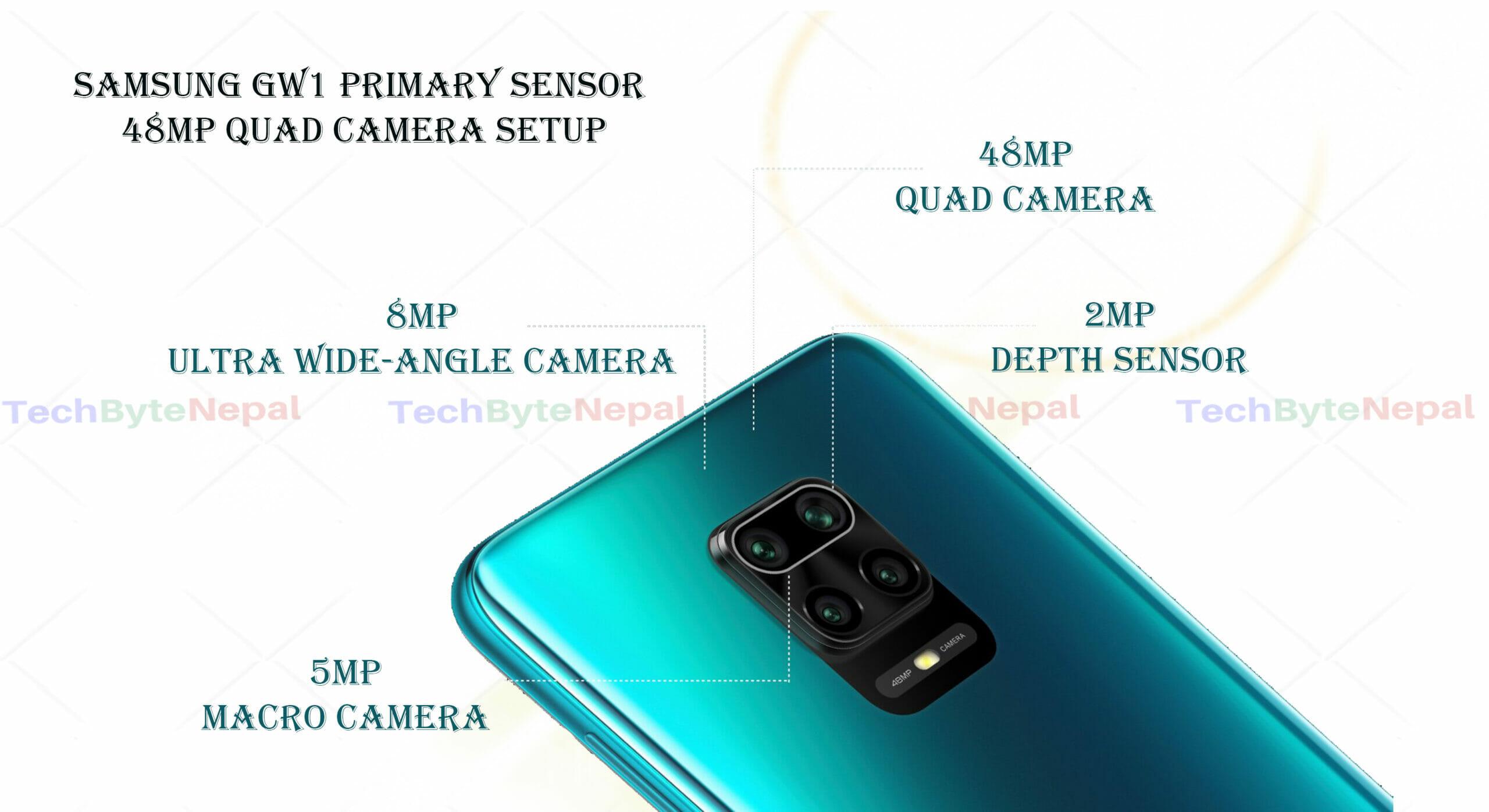 Redmi Note 9 AI Quad Rear Camera Setup