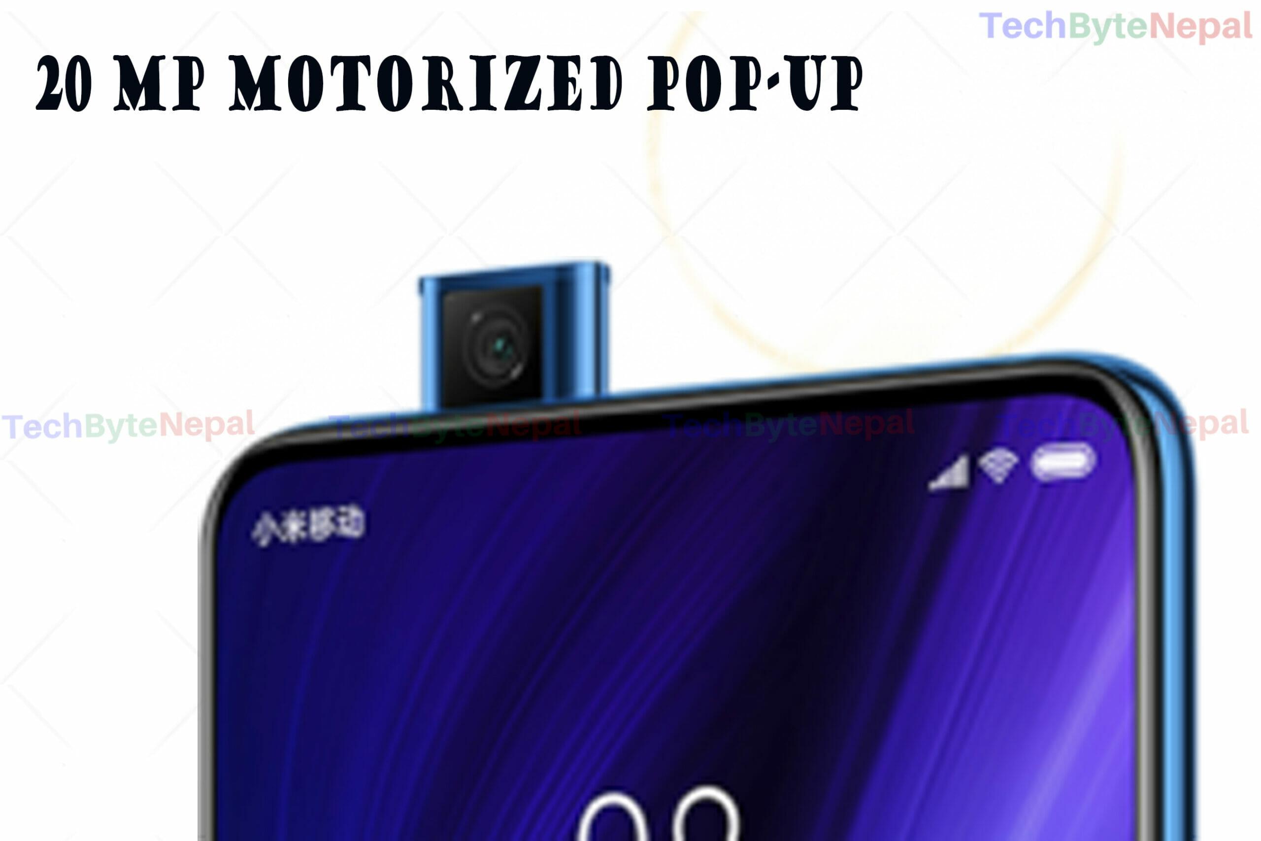 Redmi K20 Pro and K20 have pop-up motorized selfie camera