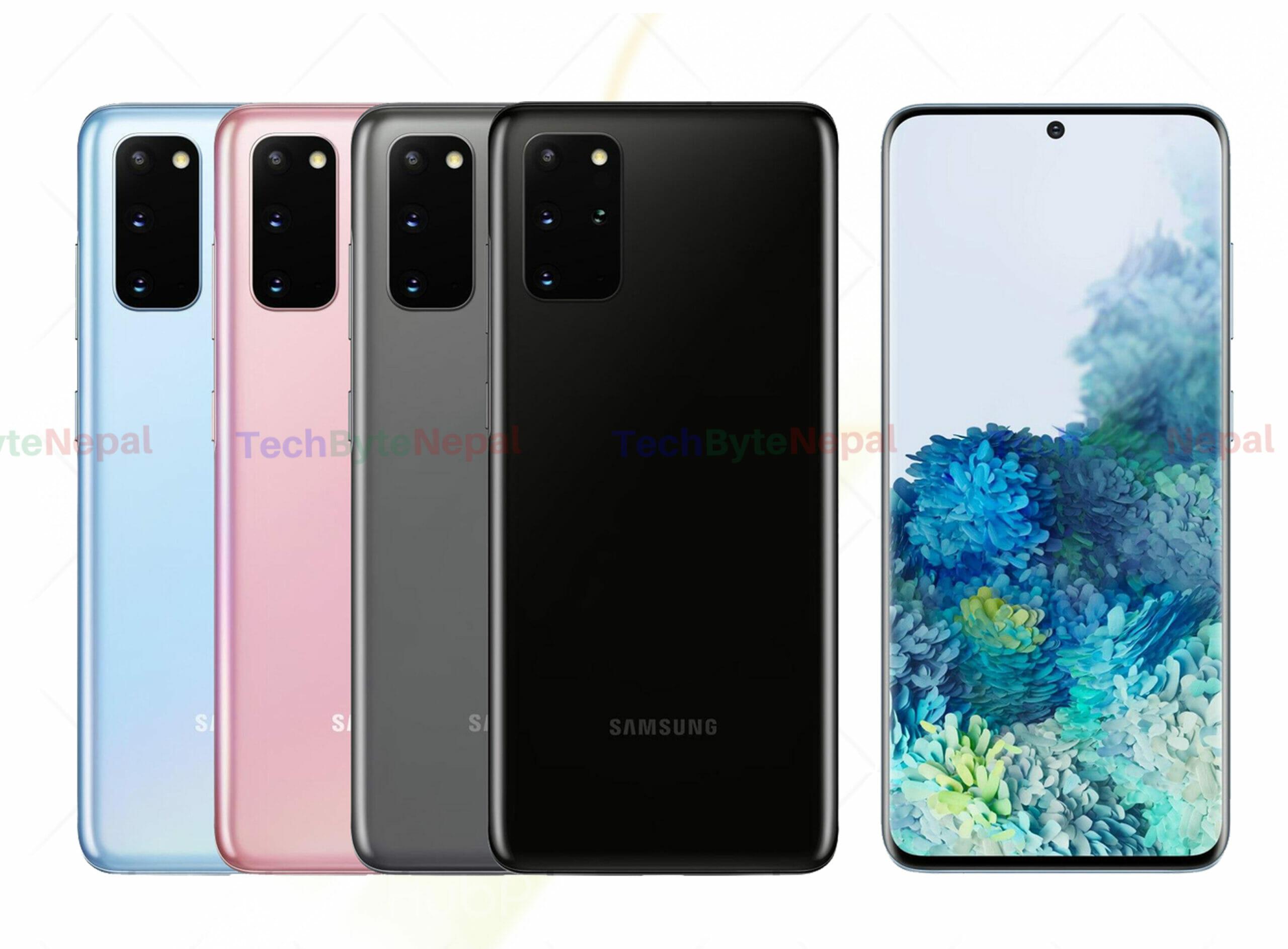 Samsung Galaxy S20 Ultra Colors